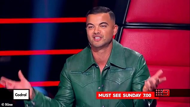 Veteran: Guy has been a judge on several talent shows, including The Voice and The X Factor