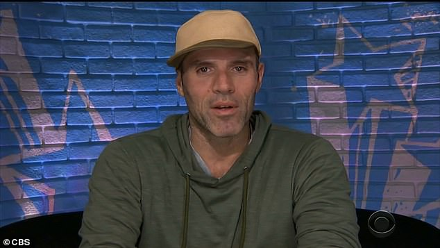 His guy:Vincenzo 'Enzo' Palumbo, 42, was thrilled that his alliance member Cody won the HoH