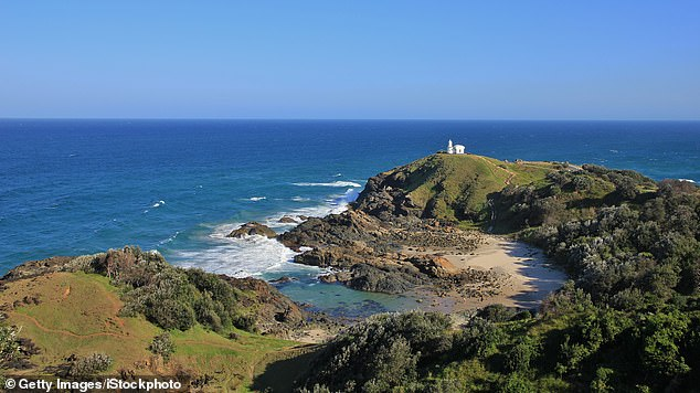It comes days after police abandoned a search for missing Port Macquarie man Mark James whose car was found parked at Tacking Point Lighthouse (pictured)