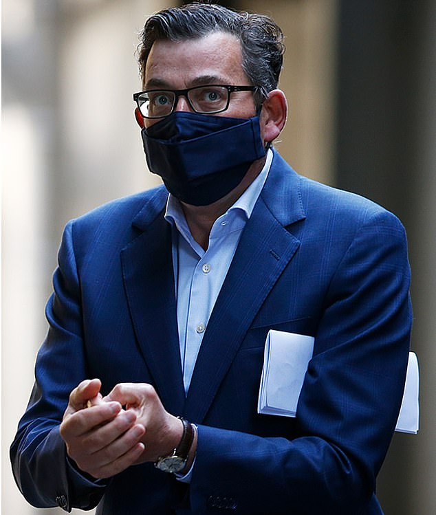 Premier Daniel Andrews (pictured) blamed Jenny Mikakos for the state's hotel quarantine blunder, leading several Labor MP's to lash out against him