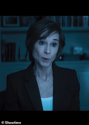 Holly Hunter in The Comey Rule