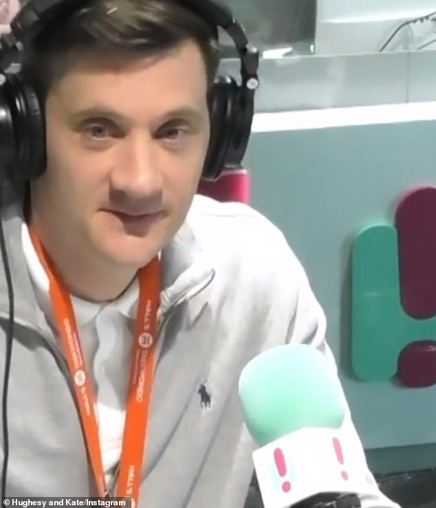 Claims:Last month, radio host Ed Kavalee (pictured) claimed Becky had been in a relationship but she ended it so she could appear on the show