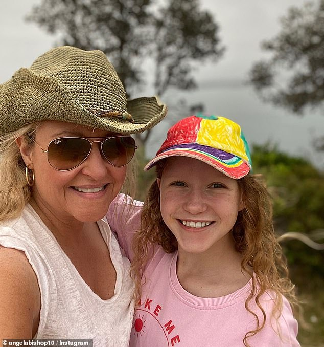 Heartbreak: The mum-of-one said she was already terrified of going for pregnancy scans, because her 13-year-old daughter Amelia's heart condition had been diagnosed during the 20-week scan