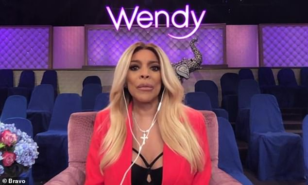 Hot topics:Wendy Williams shared her thoughts Sunday on the imminent end of Keeping Up With The Kardashians and Kanye West running for US president