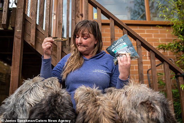 The breeder said she spent her day walking her several dogs, cooking their meals or grooming their hair