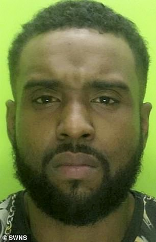 Marcus McKenzie was sentenced to 18 months in prison at Nottingham's crown court after admitting burglars