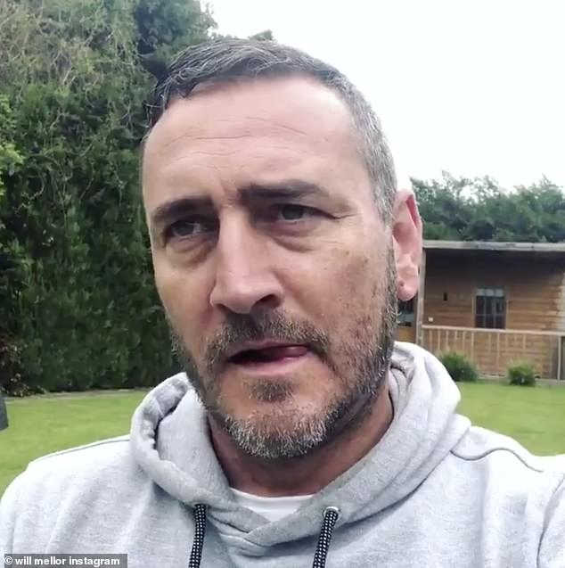 Unbelievable: Ex-Hollyoaks actor Will Mellor has revealed he accidentally put down someone else's cat thinking it was his own