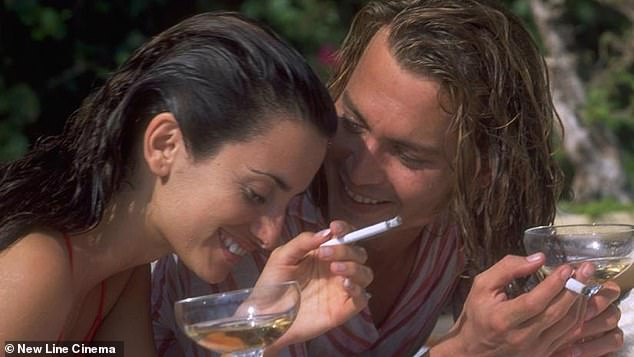 Blow: Penelope starred opposite Johnny Depp in film Blow where he played a drug dealer and she played his wife Mirtha Jung; 2001