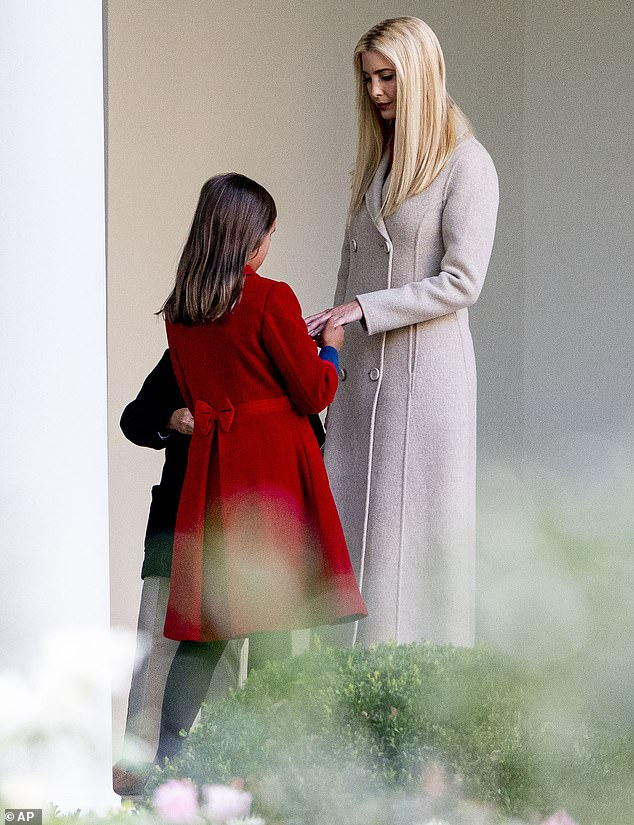 Timing is everything:The White House senior adviser paid tribute to her daughter just hours after The New York Times released a damning report about her family's tax returns