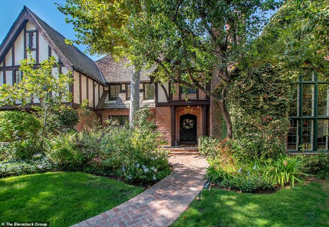 Ready to sell:Armie Hammer has put his historical, beautiful Los Angeles brick mansion, located in the exclusive Hancock Park area, for $5.8M