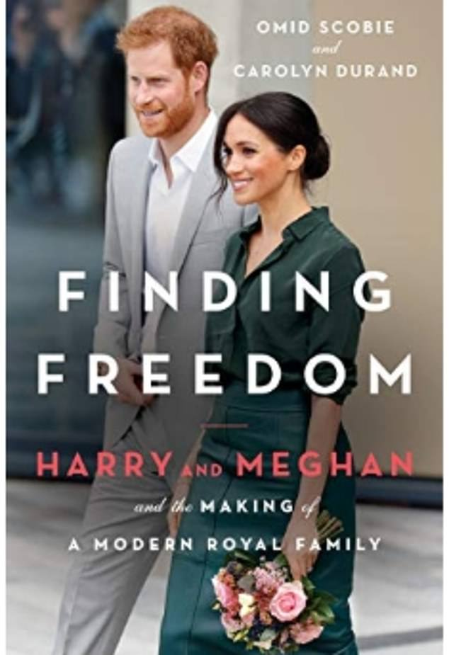 This comes after the release of Finding Freedom.  The biography (pictured) offers a window into Meghan and Harry's life during their time as royals, and is full of details about their shocking exit from the royal family.