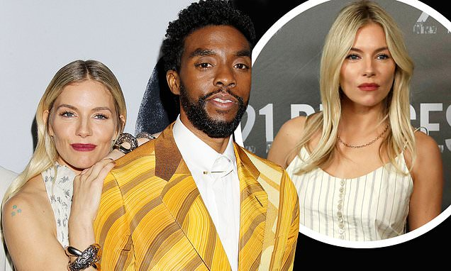 Sienna Miller reveals that Chadwick Boseman donated money from his OWN salary thumbnail