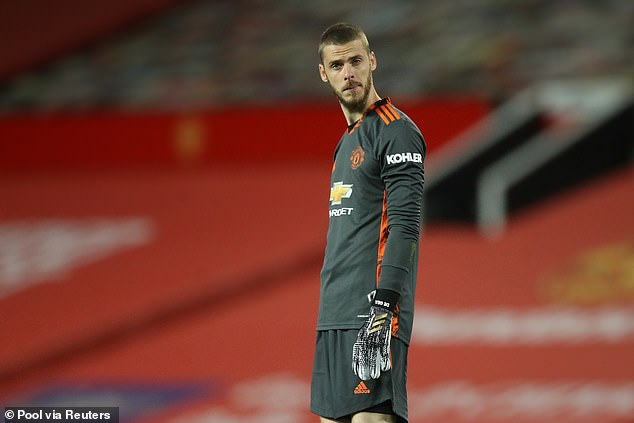 De Gea has started both Manchester United league games, conceding five goals