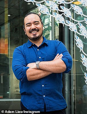 Adam Liaw (pictured) previously revealed there are two distinct smells to avoid if you are sussing out foods that have just edged past its use-by or best-before dates
