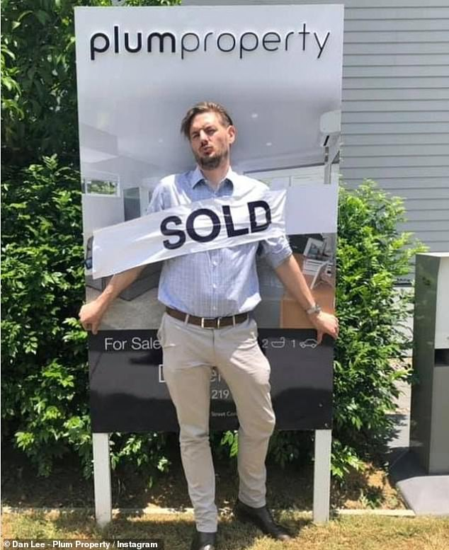 He worked for a real estate business for nine years before starting his own business Plum Property in 2016
