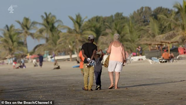 Sex on the beach viewers were left cringing as Ch4 documentary explores how British 'grannies' prey on Gambian men for some holiday romance in eye-opening programme