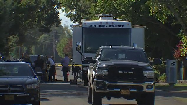 Authorities have identified the 34-year-old suspect who opened fire at them during a hostage situation shootout at a home in Salem, Oregon, on Monday