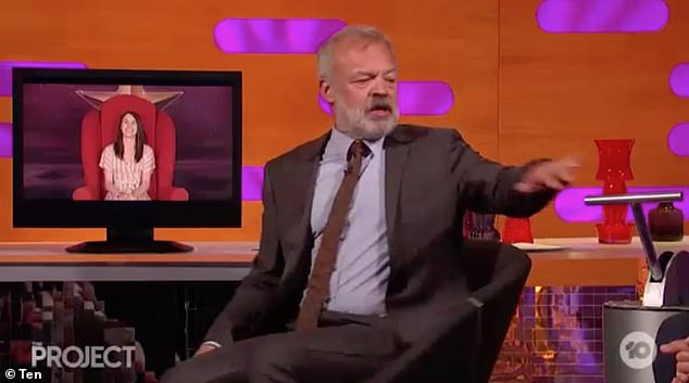 True story: Graham Norton delivered a brutally honest answer when asked if he's ever regretted pulling the lever on someone sitting in his famous Big Red Chair on The Project