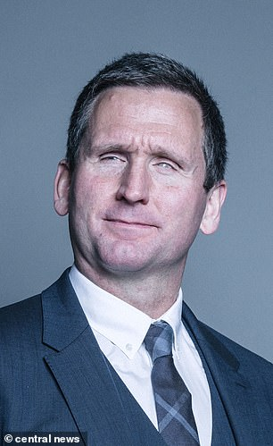 Tory peer and British Paralympic champion Lord Christopher Holmes (pictured) grabbed a masseuse's bottom at a five star hotel's spa, a court heard on Tuesday