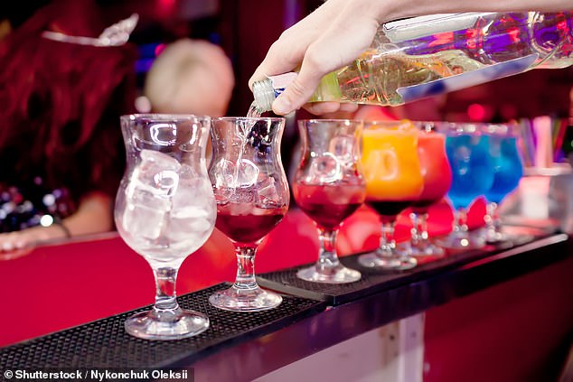 Participants involved in the study had been questioned about their drinking habits in the Spring of 2019 - and then again in Spring 2020 during the pandemic shutdown. Stock image