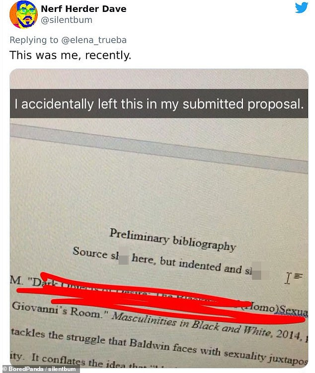 In Florida, one student learned the hard way why you should not joke in your term paper, even when it's at the draft stage
