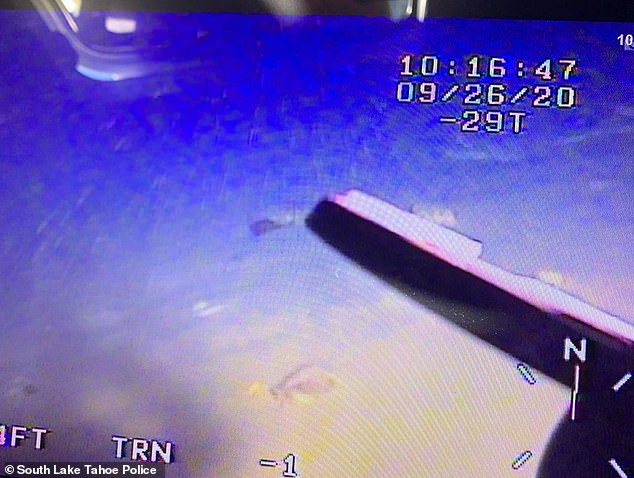 Underwater footage from the search which crews said was the deepest recorded recovery ever carried out in the US and Canada
