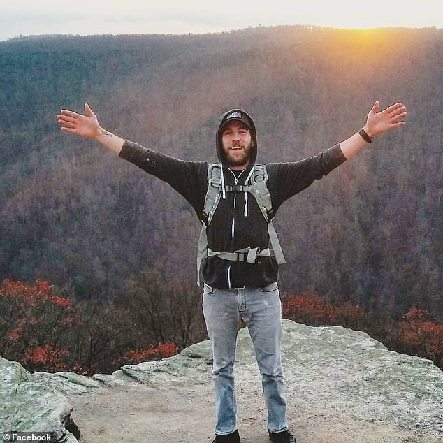 The body of Ryan Normoyle, 29, (pictured) who went missing five weeks ago while filming himself jumping off a rented boat has been found more than 1,500 feet deep in Lake Tahoe