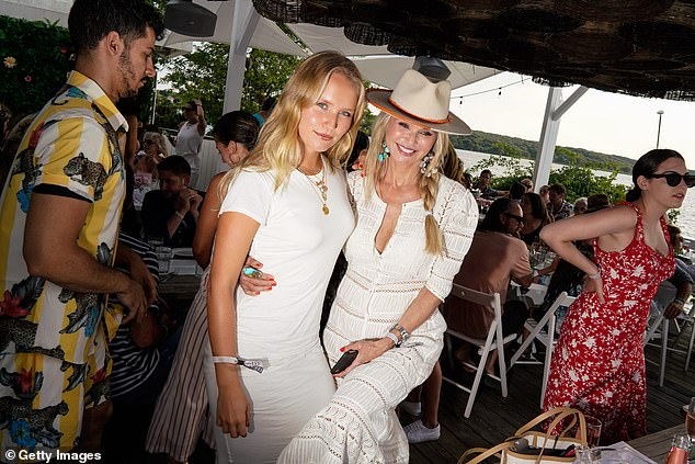 Star power: The popular Hamptons spot is a favorite among celebrities like Christie Brinkley and her daughter Sailor Brinkley-Cook (pictured in 2019)