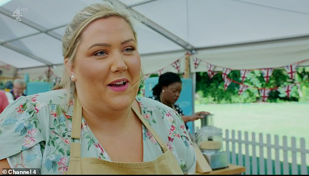 Funny: Laura from Gravesend, Kent said: 'Hobnobs are posh where I'm from', as the contestants got under way with making their crunchy biscuits