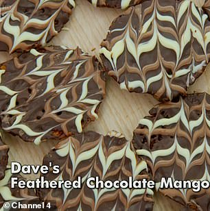 Delicious: Prue and Paul loved the design and taste of Dave's biscuits