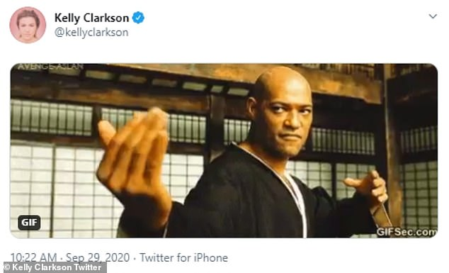 Subtle:While she has yet to formally respond to the lawsuit or comment on the matter, she did share a pointed Tweet after the news broke of a GIF of Morpheus (Lawrence Fishburne's character from The Matrix franchise) doing a 'come and get it' hand motion