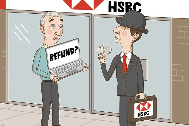 Abandoned: A reader was scammed out his life savings by cryptocurrency fraudsters - but HSBC refused to offer a refund
