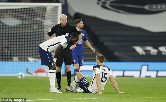 Dier rocked an injury shot in the first half before playing and scoring Spurs' first penalty