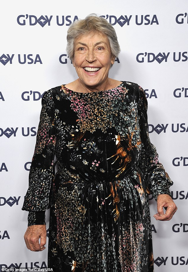 Australian singer and trailblazing feminist icon Helen Reddy (pictured in January 2019) died in Los Angeles on Tuesday after battling dementia for five years. She was78