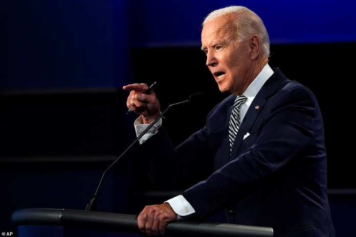 Joe Biden asked Donald Trump to shut up and called him a clown during their contentious first presidential debate Tuesday night, slapping him down as the president repeatedly interrupted his answers
