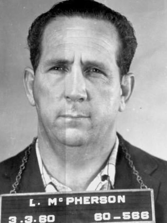Regan should have considered 'Ratty Jack' Clarke had the protection of gangsters including Lennie McPherson (pictured) before killing him