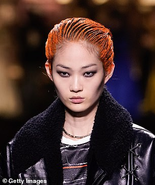 Flashes of colour at Louis Vuitton AW20