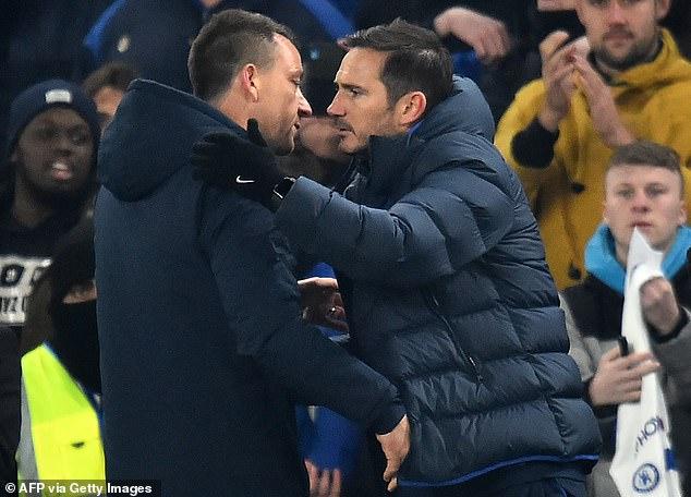 Blues boss Frank Lampard allowed Barkley to join former teammate John Terry