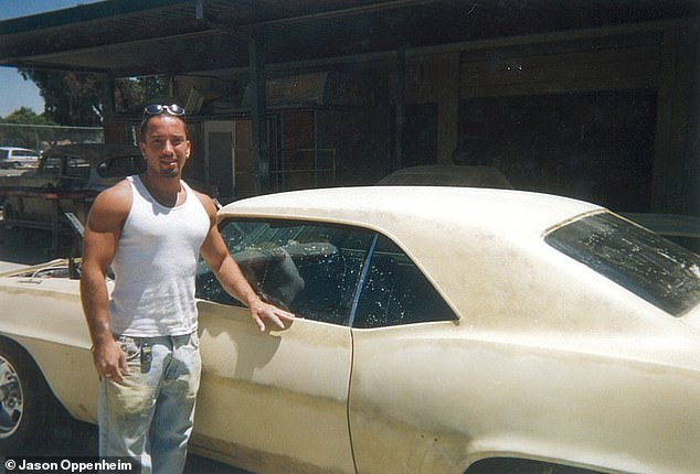 'I wanted to be a mechanic and the only thing I loved at school was an occupational program, working on a 1969 Camaro in a body shop all day,' he recalls