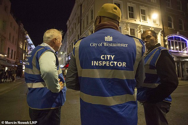 City inspectors in Westminster have been looking for coronavirus rules breaches