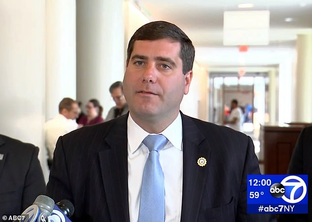 DA Tim Sini added: 'This case sends a clear message to those who are trafficking women and girls in this county: We will not stand for it'