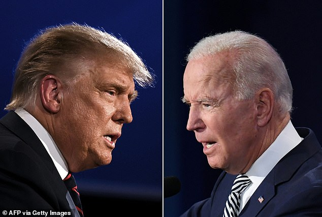 A general consensus was reached that Tuesday night's contentious debate in Cleveland, Ohio was a 'dumpster fire' where neither candidate came out the other side looking good