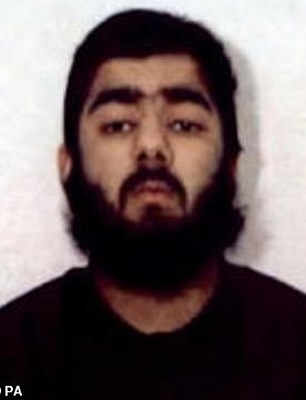 Usman Khan, who killed two people on London Bridge in November last year