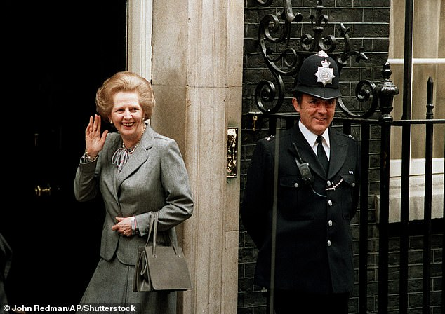The frequency of their encounters increased when she was appointed to the Privy Council, and again after her election as Tory leader in 1975 when she was an automatic invite to State banquets at the Palace