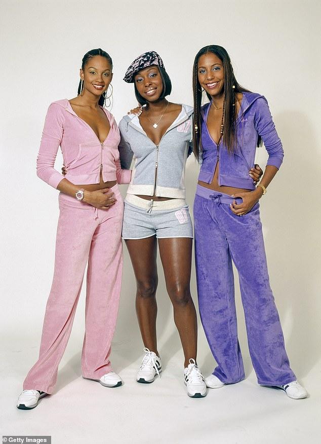 Girl group: Mis-Teeq had seven consecutive top-ten singles including Scandalous and All I Want (picturedAlesha Dixon, Sabrina Washington and Su-Elise Nash circa 2000)
