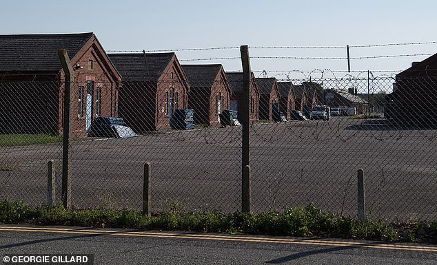 Migrants are currently being housed in Napier Barracks in Folkestone, Kent, which has been repurposed for them