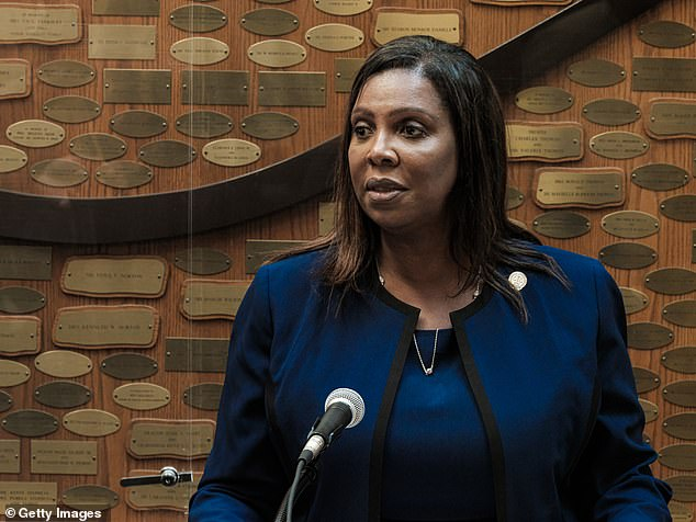 Letitia James, the attorney general, filed a suit against the parent company on Wednesday