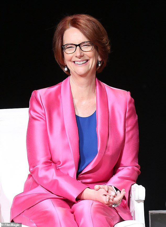 Australia's first female Prime Minister Julia Gillard (pictured) has described the late Helen Reddy as a global feminist icon following her death