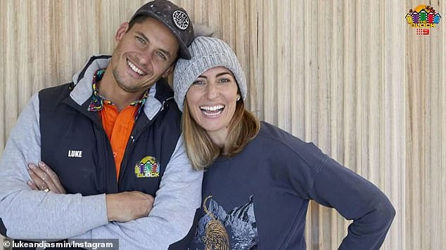 'We believed it was all above board':Luke and Jasmin first tried to reason with fans on Tuesday, by vehemently denying plagiarising and insisting they did not knowingly break the rules