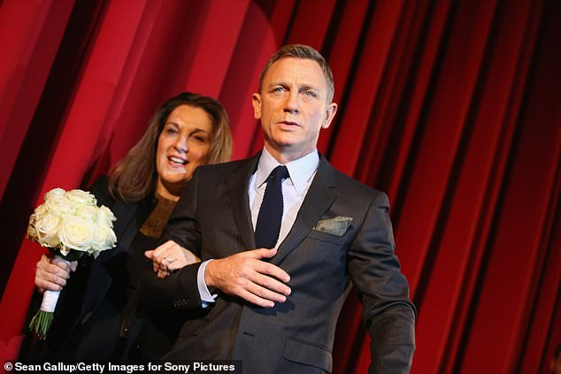 Over and out: Barbara Broccoli said the upcoming movie 'ties up all the storylines' (pictured with Daniel Craig in 2015)